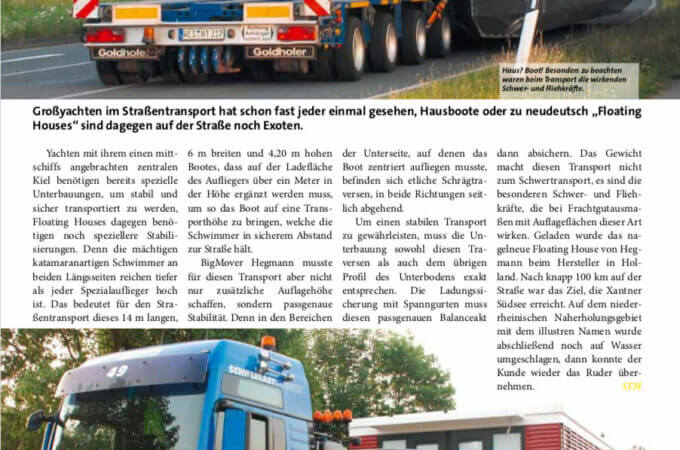 STM Schwertransportmagazin