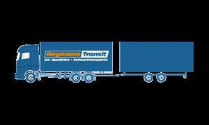 Sattelfahrzeug / Pritschenfahrzeug | Hegmann Transit